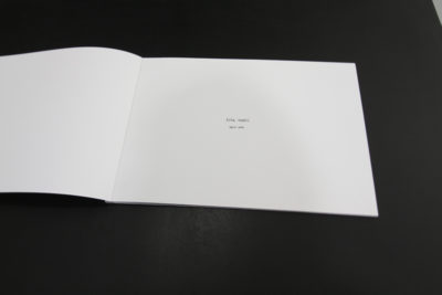 Photo-book, digital print, 29.7 x 42 cm