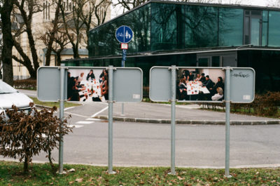 Photographs in public space - Ljubljana, various size, 2019